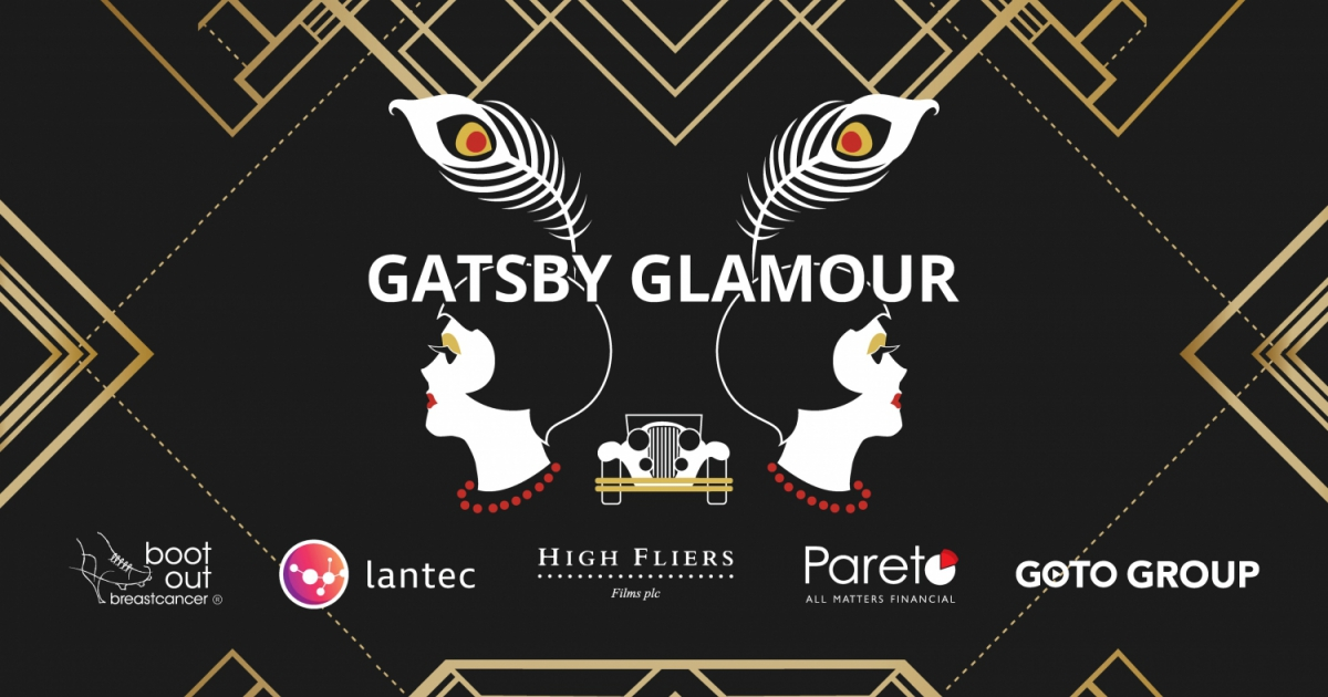 THE GATSBY BALL FUNDRAISER FOR BOOT OUT BREAST CANCER