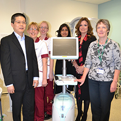 Nightingale Hospital New Equipment